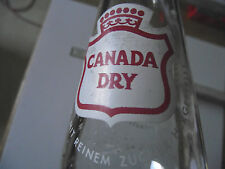 Flasche, Limonade, Limo, Brause, Cola - CANADA DRY, 0.25 Ltr., Bottle, Space Age