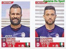 665 BRUNO MARTELLA - ZAMPANO ITALIA FC.CROTONE STICKER CALCIATORI 2016 PANINI
