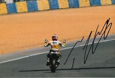 Thomas Luthi Hand Signed 12x8 Photo Interwetten Kalex Moto2 2015 MOTOGP.