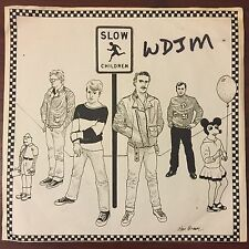 "SLOW CHILDREN Pseudo Girl 7"" Rare PRIVATE NEW WAVE Power Pop"