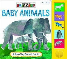 Eric Carle - Baby Animals (Lift-a-Flap Sound Book)
