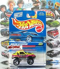Hot Wheels 1998 #884 Gulch Stepper® METAFLAKE YELLOW,ORSB,THAILAND METAL BASE