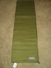 MILITARY ISSUE CASCADE DESIGNS GREEN SELF INFLATING SLEEPING MAT PAD