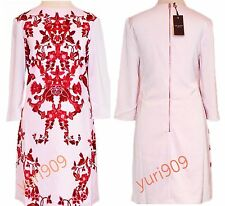 Ted Baker London Pale Pink Odana Ornate China Tunic Dress Size 1 (US 4) $275