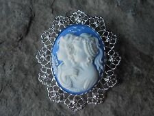 *2 IN 1 SISTERS, MOTHER, DAUGHTER, FRIENDS CAMEO BROOCH/PIN/PENDANT!! CHRISTMAS
