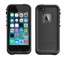 100% Original LifeProof Apple iPhone 5 5S Black fre Series Waterproof Cover Case