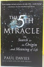 THE 5TH MIRACLE   -Paul Davies-   PAPERBACK ~ NEW