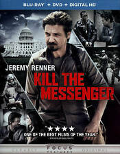 KILL THE MESSENGER/Jeremy Renner/NEW BLU-RAY+DVD+DIG HD/BUY 4 ITEMS SHIP FREE