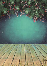 Christmas Background for Baby Photo Props Child Photography Backdrop Vinyl 5x7FT