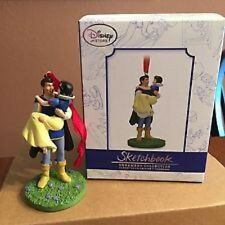 Disney Store SNOW WHITE With Prince Sketchbook Ornament Limited Edition Of 1000