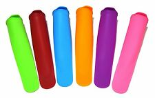 WHOLESALE LOT 150 SETS Green Direct Silicone Ice Pop Molds Vibrant Colors (6 pk)