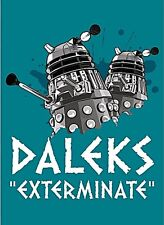 Dr. Who Daleks Exterminate fridge magnet  (hb)