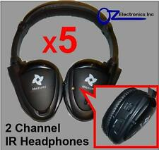 5x Headphones wireless car DVD mitsubishi Outlander Xtrail Pathfinder Pajero NEW