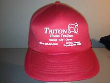 Triton Horse Trailers Washington Adjustable Snapback Hat