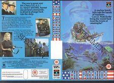The Patriot, Gregg Henry, VHS Video Promo Sample Sleeve/Cover #8454