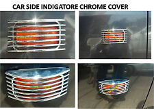 Car Side Indicator Chrome Cover Set Of 2 PCS :- Suitable For All Cars