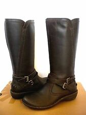 UGG~ROSEN Stout Leather Wool lined winter riding boots US 7 / EU 38 1008210 NEW