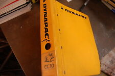 DYNAPAC CC10 Roller Compactor Operator Maintenance Parts Service Repair Manual