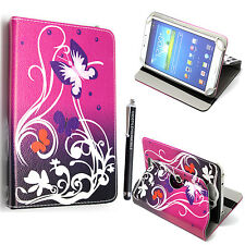 """For Acer Iconia One 7"""" 8"""" Models NEW FOLDING LEATHER universal Tablet CASE COVER"""