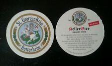 Bierdeckel KellerBier der St. GeorgenBräu Kramer GmbH & Co. KG in Buttenheim