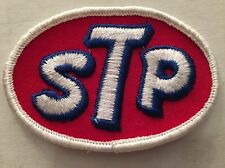 Vintage Patch STP Oil Additive Race Muscle Car Hot Rod Rat 70s NOS Indy 500