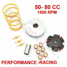 VARIATOR HIGH PERFORMANCE RACING 5G & CLUTCH TOURGE SPRING GY6 4STROKE 50-80cc