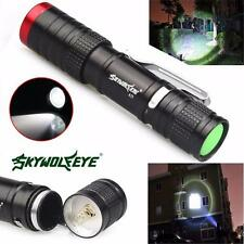 3500LM 3 Mode Zoomable CREE XML T6 LED Flashlight Torch 14500 Outdoor Lamp Light