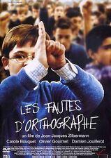 DVD *** LES FAUTES D'ORTHOGRAPHE ** avec Carole Bouquet