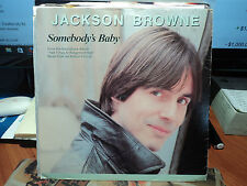 "Jackson Browne ""Somebody's Baby"" & The Crow On The Cradle"" 1982 ASYLUM Oz PS 7"""