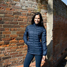 RESULT LADIES ICE BIRD PADDED JACKET R192F - QUILTED PUFFA STYLE WARM 4 COLOURS
