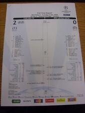 05/12/2006 Chelsea v Levski Sofia [UEFA Champions League] Official UEFA Colour F