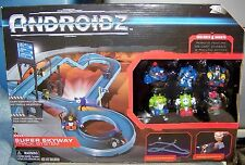 ANDROIDZ SUPER SKYWAY TRACK SYSTEM WITH SIX ANDROIDZ ROBOTS