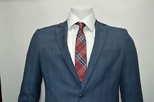 Men's Blue Slim Fit Dress Suit Size 36S NEW Suit