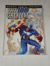 MARVEL COMIC PRESENTS 100 GREATEST ALL TIME #21-18 GRAPHIC NOVEL
