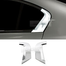 Chrome C Pillar Quarter Glass Molding Trim Cover for HONDA 2012-2013 Civic Sedan