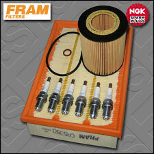 SERVICE KIT BMW 5 SERIES 530I E39 FRAM OIL AIR FILTERS NGK PLUGS (2000-2003)