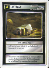 STAR TREK CCG WHITE BORDER PREMIERE 1995 BETA RARE CARD TIME TRAVEL POD