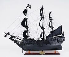 Old Modern Handicrafts Black Pearl Pirate Model Ship