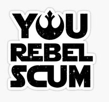 Star Wars Rogue One Rebel Scum Rebels Empire Sticker decal car laptop cute
