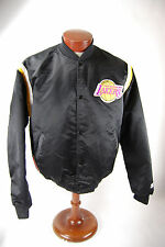 NBA Los Angeles Lakers Vintage Black Satin Starter Jacket