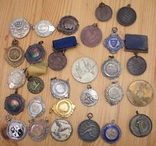 Collection of Vintage Sports Medals & assorted fobs - Football - Darts etc etc