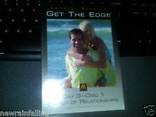 Anthony Robbins Get the Edge - Day 3 -Disc 1 Power of Relationshi ps CD WW Ship