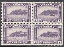 Canada 13c Quebec Citadel Block, Scott 201, VF MNH, catalogue - $560