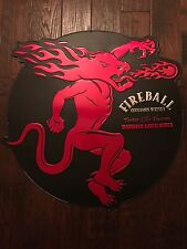 Fireball Dragon Cinnamon Whiskey Sign