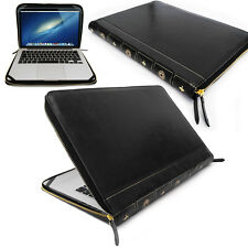 Smart Leather VINTAGE BOOK Laptop Folio Case, Cover Sleeve For Apple Macbook