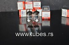 Matched Pair 5654 6AK5W EF95 Telefunken ( Rebranded AEG) NOS diamond bottom