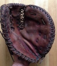 1950s MATSUKAN PINE FIRST BASE BASEBALL GLOVE, PROFESSIONAL MODEL MF 1716, JAPAN