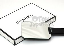 Chanel VIP Gift Make Up Bag Brush Eye Lip Stick Hand Mirror Gloss Black New