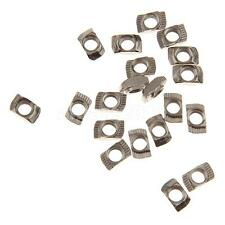 T Type Sliding Extrusion Nut Block For 20 Aluminum Profile Slot M5 20PCS