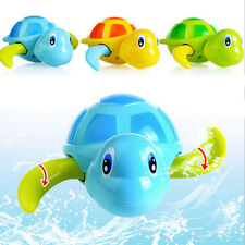 Small Swimming Animal Turtle Pool Toys for Baby Children Kids Toddler Bath Time